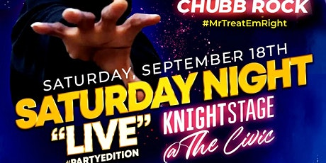 """80's 90's 2000's Hip-Hop & RnB  Party """"LIVE"""" The Knight Stage @  the CIVIC tickets"""