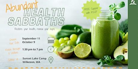 Abundant Health Sabbaths tickets