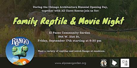 Family Reptile & Movie Night tickets