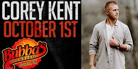 Corey Kent tickets