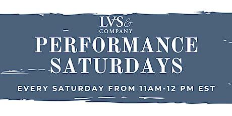Performance Skills Saturdays tickets