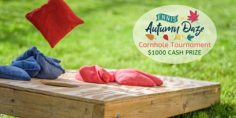 Ennis Autumn Daze Amateur Cornhole Tournament tickets