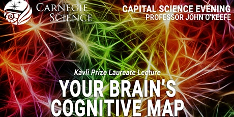 Your Brain's Cognitive Map - Kavli Prize Laureate Lecture tickets