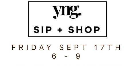 YNG. Sip + Shop! tickets