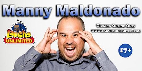 MANNY MALDONADO featuring Tristan Johnson tickets