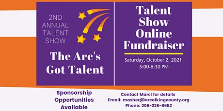 2nd Annual The Arc's Got Talent Show Fundraiser tickets