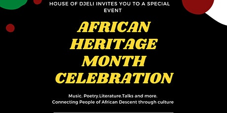African Heritage Month Event tickets
