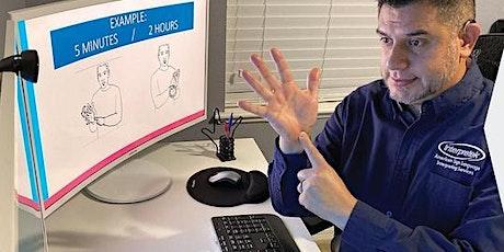Basic Conversational ASL 101  Class tickets