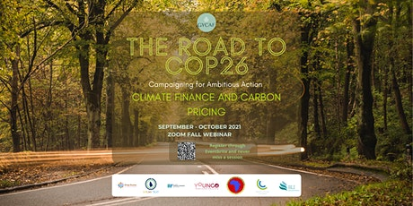 Road to COP26  - Climate Finance and Carbon Pricing Webinar tickets