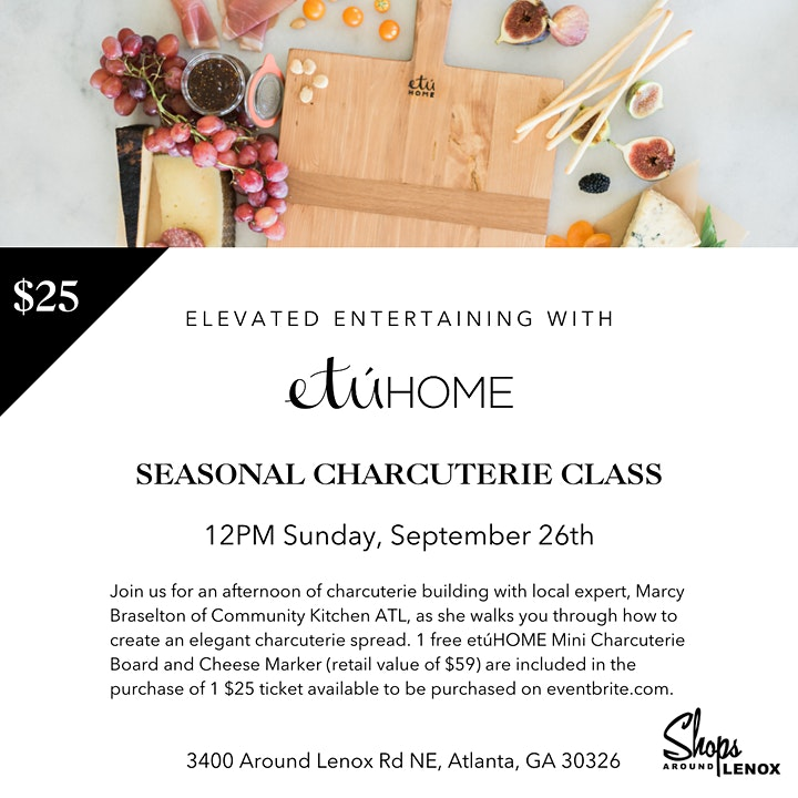 Elevated Entertaining with etúHOME - Charcuterie 101 image