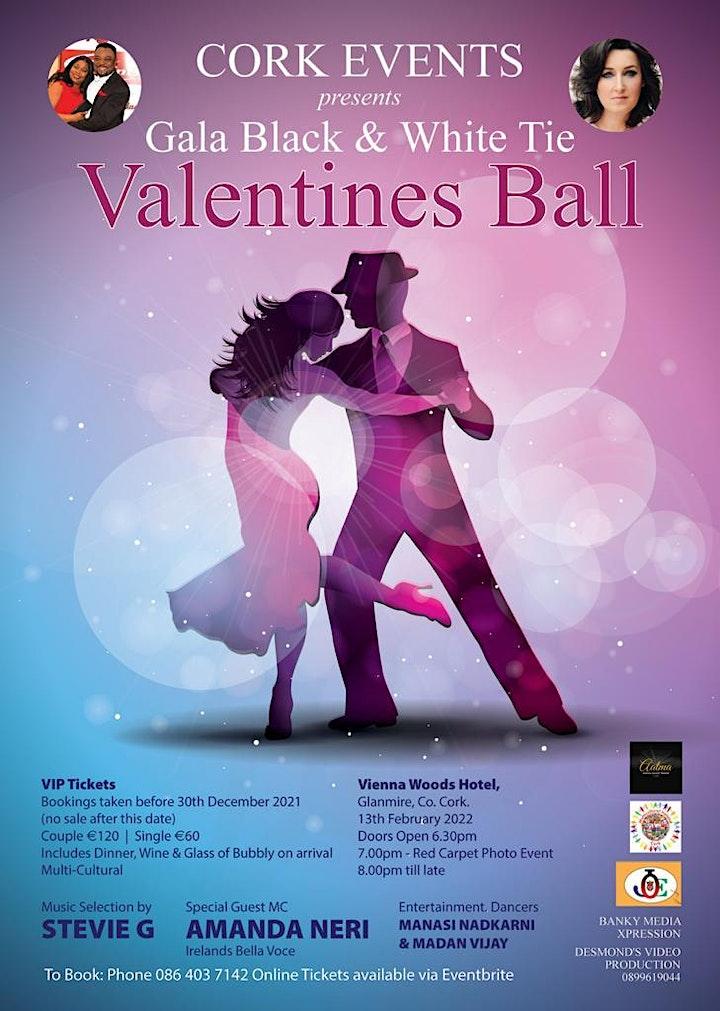 Valentines Ball - Gala Black & White Tie  2022 image