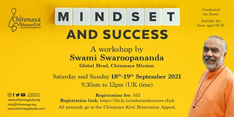 Mindset and Success - Chyk Workshop with Swami Swa tickets