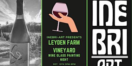 Wine Glass Painting at Leyden Farm Vineyard tickets