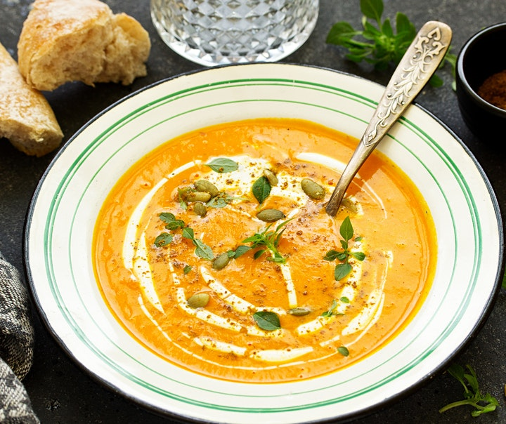 Vegan Cooking Classes - Winter Stews/Soups + Mindful Cooking image