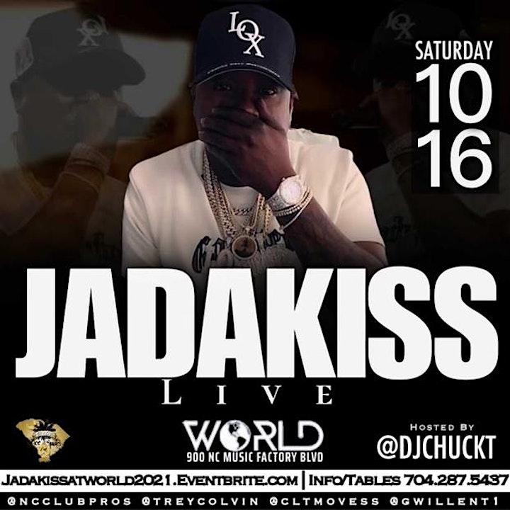 JADAKISS Performing LIVE at WORLD NIGHT CLUB image