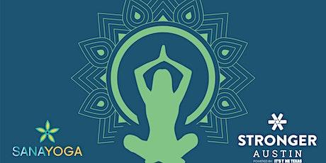 FREE Virtual Yoga with Sana Yoga tickets