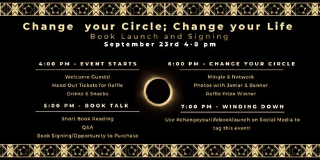 Change your Circle; Change your Life Book Launch tickets