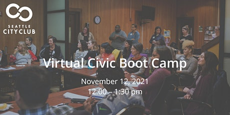 Civic Boot Camp: Addressing racism in community-based health programs tickets