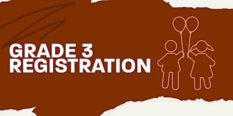 Grade 3 Bethel Kids Registration tickets