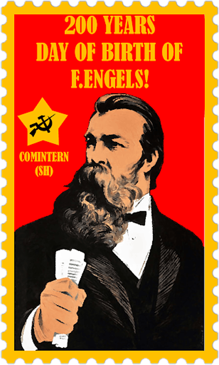 Friedrich Engels 201st Birthday FREE Walk with Politics Expert Ed Glinert image