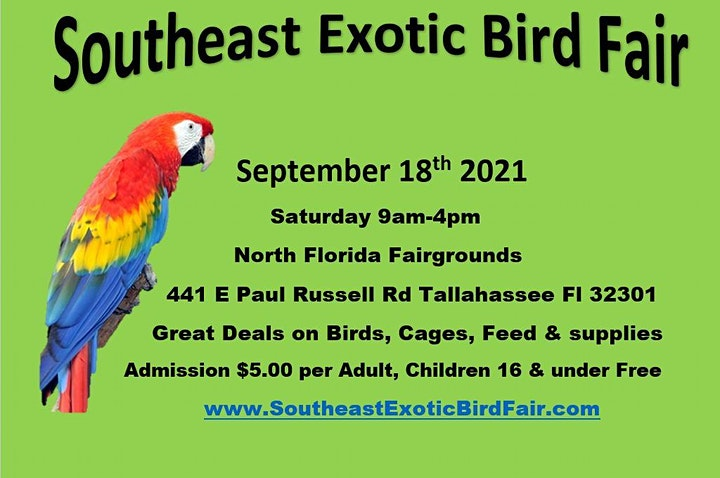 Southeast Exotic Bird Fair Tallahassee Fl image