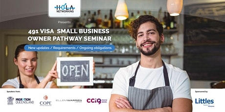 491 Visa - Small Business Owner Pathway Seminar tickets