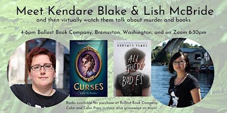 Kendare Blake and Lish McBride tickets