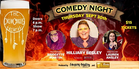 DreamChaser's Comedy Night - A Beerly Funny Production tickets