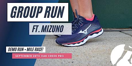 Mizuno Mile Demo Group Run tickets