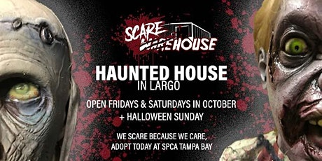 Scarehouse Pinellas Haunted House 2021 (October  21 - 31, 2021) tickets