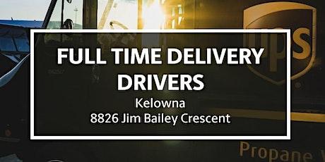 UPS Kelowna Info Session and Hiring Fair tickets