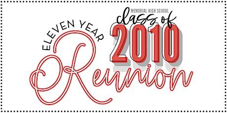 MHS Class of 2010 11-Year Reunion tickets
