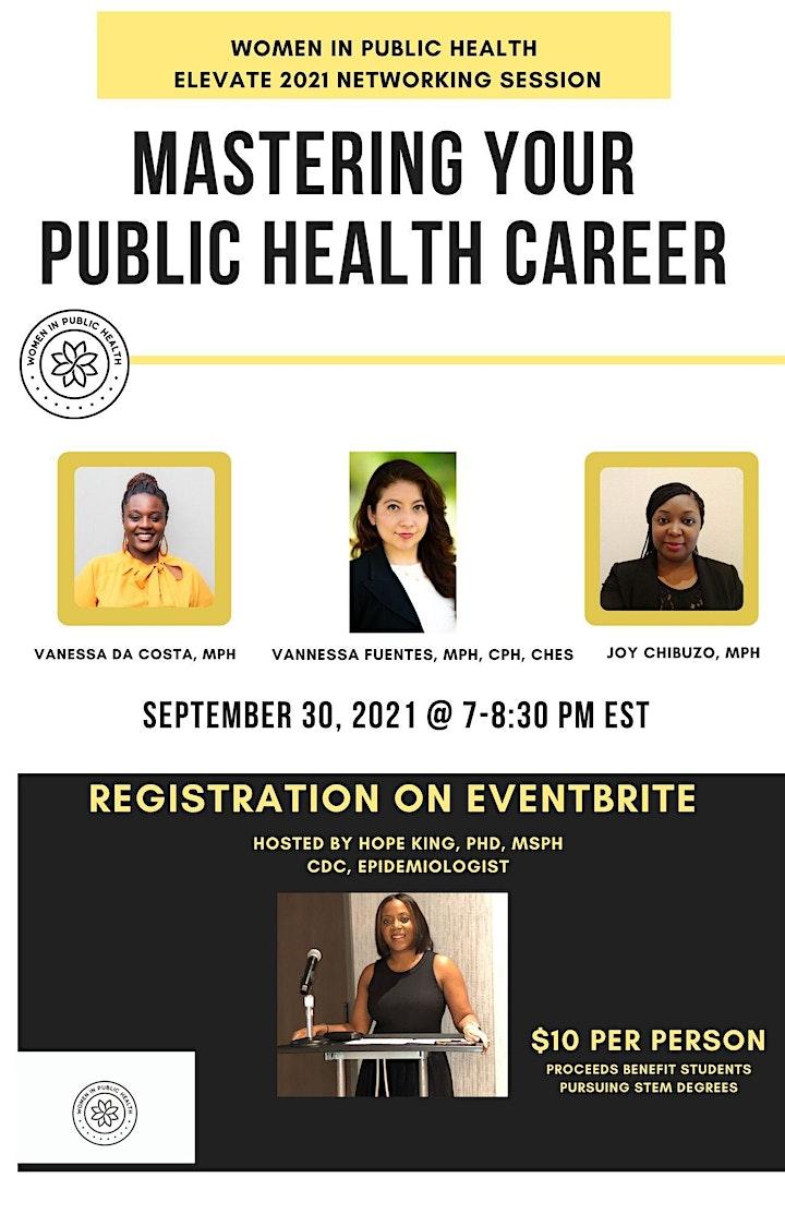 Women In Public Health: Elevate 2021 image