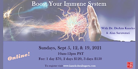 Boost Your Immune System Naturally tickets