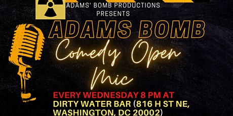 Adams Bomb Open Mic Comedy tickets