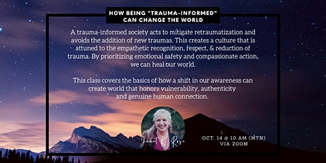 """How being """"trauma-informed"""" can improve our world tickets"""