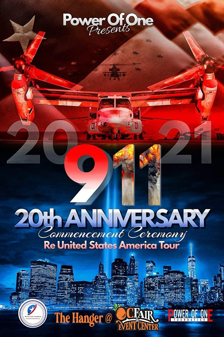 9/11 20th Anniversary Remembrance Event [FAMILY-FRIENDLY!] image