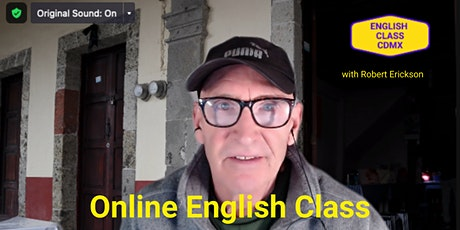 Online English Class Information: Gratis tickets