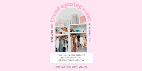 Darling Authority Boutique Grand Opening Event tickets