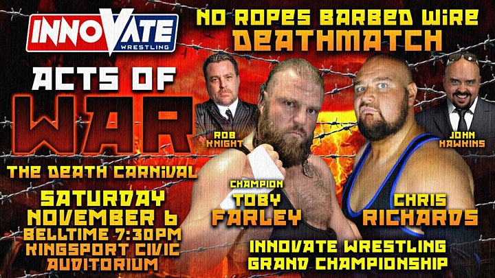 Innovate Wrestling Acts of War image