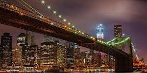 Sunset Walk Across Brooklyn Bridge Yoga Class & Pot...