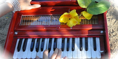 Online Monday Harmonium Class with Gina Salā (small group) tickets