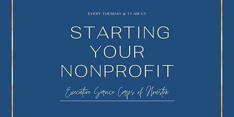 Nonprofit Startup Organization Meet-up / EVERY TUESDAY & FREE TO ATTEND tickets