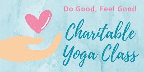 Do Good, Feel Good - Charitable Yoga Class tickets