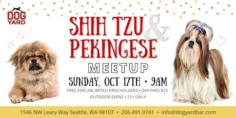 Shih Tzu & Pekingese + Mixes Meetup at the Dog Yard in Ballard tickets