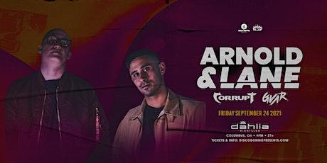 Arnold & Lane / September 24 / Dahlia tickets