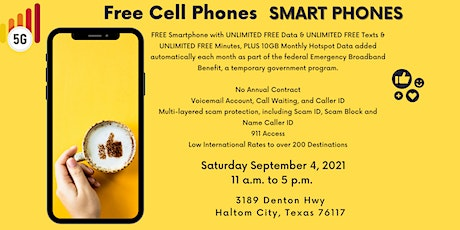 Free Cell Phone Wednesday tickets