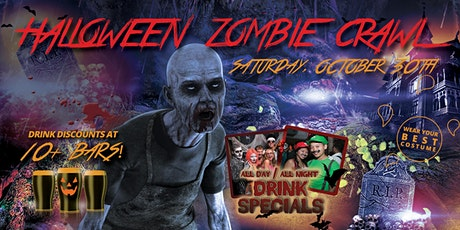 TEMPE ZOMBIE CRAWL - Halloween Pub Crawl - OCT 30th tickets