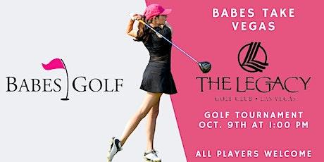Babes Golf Takes Vegas Tournament tickets