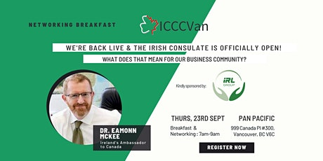 ICCCVan is back and the Irish Consulate is officially open! tickets